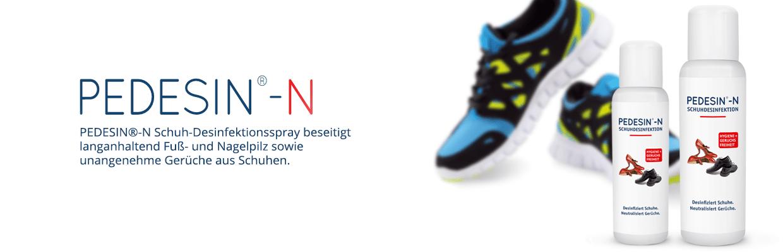 Schuhe desinfizieren leder